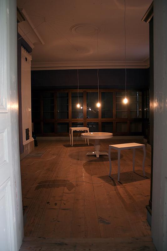Ta Kymatika - Sound installation at Murberget, Länsmuseet Västernorrland. - Mari Kretz