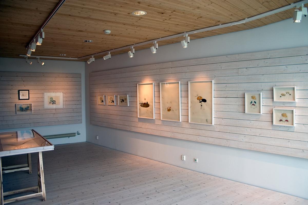Teckningsmuseet, Laholm