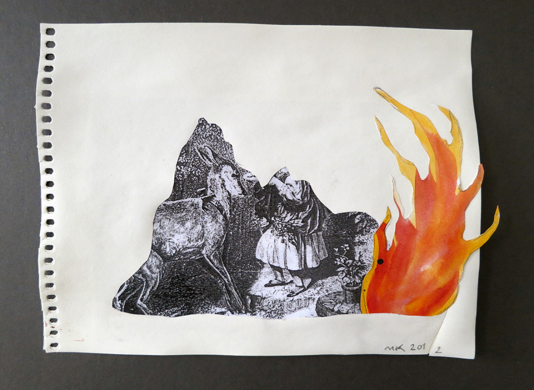 The Flame - Mari Kretz