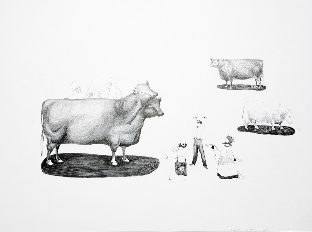 One of those old cows - Mari Kretz