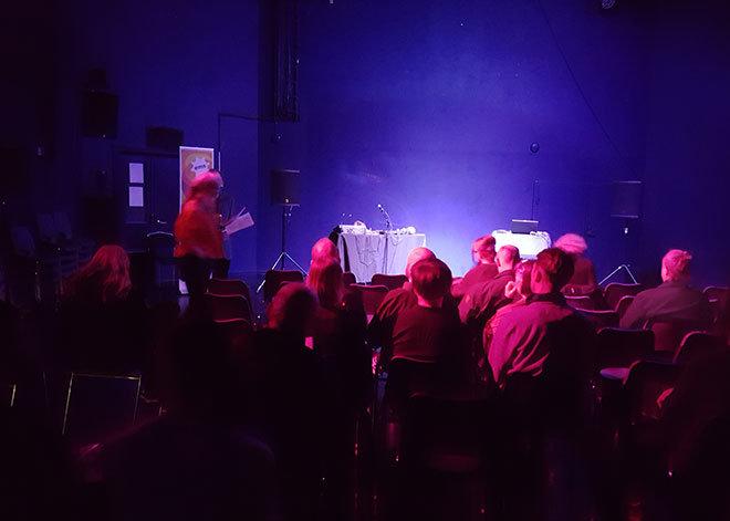 Ewert och publiken - Kulturnatt 2017
