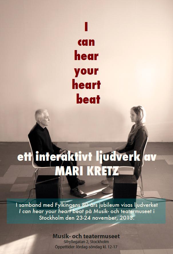 Poster Musikmuseet - Mari Kretz