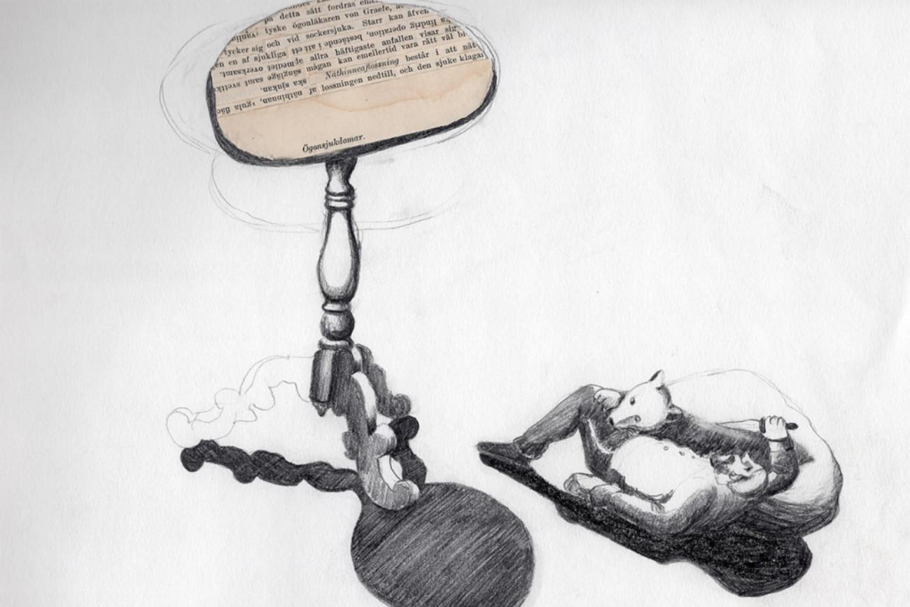 Attackerad, 40x33 cm, collage, 2008