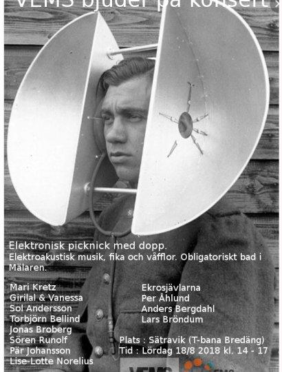VEMS Elektropicknick med dopp-2018