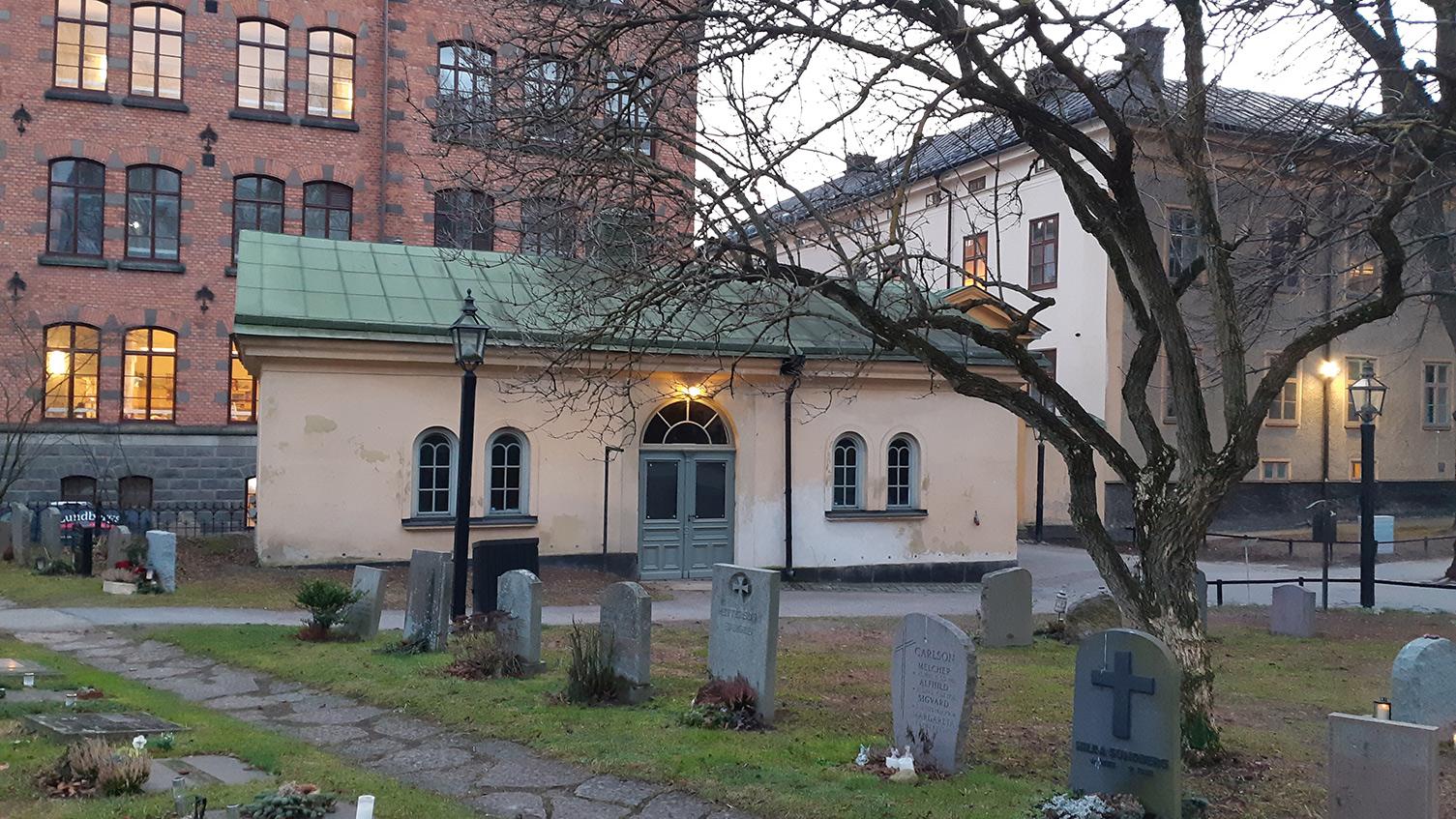 Benhuset vid Katarina kyrka, Stockholm.
