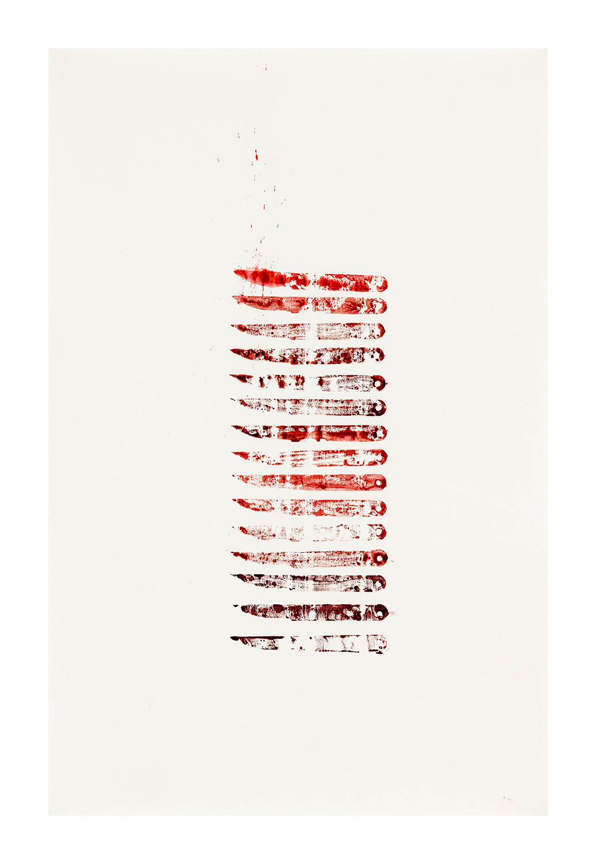 Knivarna I, 65x100 cm, akvarell - Mari Kretz